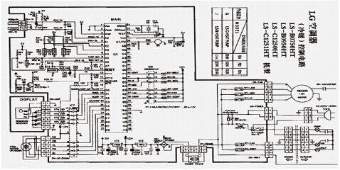 2.空调控制板电路图